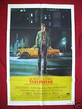 TAXI DRIVER * 1976 ORIGINAL MOVIE POSTER 1SH MARTIN SCORSESE ROBERT DENIRO NM