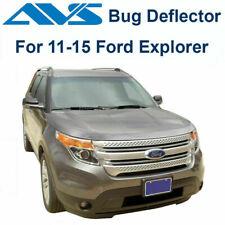 AVS Fits 2011-2015 Ford Explorer Aeroskin Chrome Hood / Bug Protector 622045