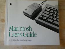Vintage Computing Manuals - Macintosh User's Guide for desktop Mac computers