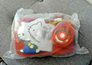 New With Tags Sealed LESPORTSAC Hello Kitty Camera Red Strap Crossbody Bag