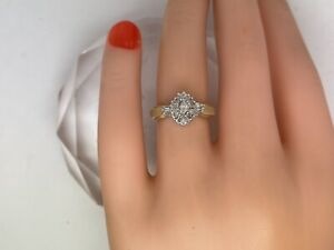 .81CTTW Marquise Natural Diamond W/ Baguettes VS1-SI1 F-G  14kt Yellow Gold Sz 5