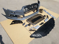 For Audi A6 4G C7 Prefacelift Front RS6 Look Bumper COMPLETE SET REPLACEMENT