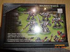 Warhammer W40K GREY KNIGHT SPACE MARINES TERMINATORS METAL - SEALED BOX OOP