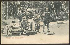 Hong Kong. Chinese Sweet-Meat Sellers - Early Printed Postcard