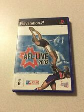 AFL Live 2003 Sony PlayStation 2 Console Game PAL PS2