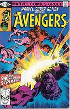 Marvel Super Action Comic Book #26 The Avengers 1980 FINE