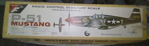 Top Flite P-51 Mustang RC Airplane Kit Unbuilt Boxed # RC-16 NO RESERVE