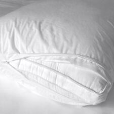Living Fresh Organic Pillow Protector - Waterproof Eucalyptus - Zippered - Queen