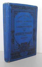 █ LES AUTEURS DU PROGRAMME L. Schmitt Cours Supérieur de Langue Allemande 1892 █