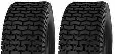 (TWO) 16X6.50-8 16X650-8 16/6.50-8 Lawn Mower Turf Tires 4 Ply Rated Heavy Duty