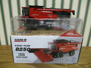 Case IH 8250 Axial-Flow Combine 2020 Farm Show By Ertl 1/64th Scale