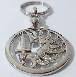 Porte-Clés type insigne de béret parachutiste TAP PARA METRO & 2°REP Légion