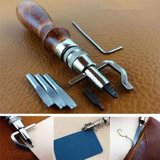 Artigianato in pelle Punch strumenti Kit cucitura Carving lavoro cucito sella Gr