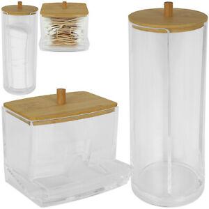 Alpina Wattestäbchen oder Wattepad Spender Behälter Kosmetik Dose Aufbewahrung