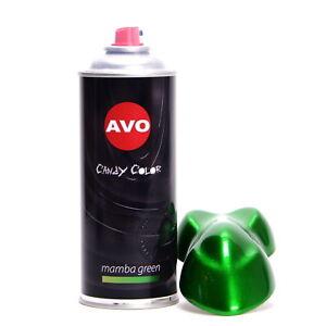 Effektlack Candy Color Spray Mamba Green Lasur Lackspray 400ml AVO A08090
