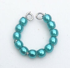 """Dreamz TEAL Pearl Single BRACELET made for 11"""" Barbie Doll Jewelry"""