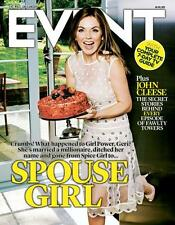 Spice Girls GERI HALLIWELL PHOTO COVER EVENT MAGAZINE SEPT 2015 JASON HUGHES