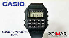 CASIO VINTAGE C-70 CALCULATOR QW.133 JAPAN  AÑO 1980