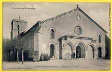 CPA France SAINT THOMAS de CONAC (Charente Maritime) L'ÉGLISE Style Roman Animés