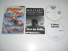 FIGHTER PILOT 1 Inc. MILITARY COLLECTION Pc Add-On Flight Simulator 2002 & 2004