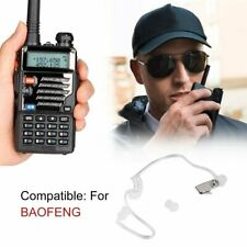 2 Pin PTT Air Tube Earphone Headset Walkie Talkie Two Way Radio for Baofeng _%