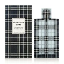 BURBERRY BRIT for MEN * 3.3/3.4oz (100ml) EDT Spray * NEW & SEALED (Old Package)
