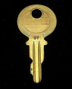 Ignition Switch KEY #37 from Briggs & Stratton Series #31-54, 1920's Vintage