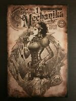 Lady Mechanika #1 2010 Aspen Retailer Incentive Sketch Variant Comic Book NM