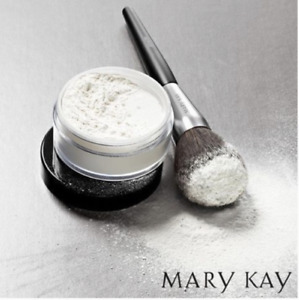 MARY KAY TRANSLUCENT LOOSE POWDER, NIB, MATTE, SHEER FACE POWDER SETS FOUNDATION
