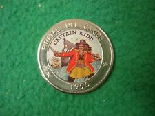 Pirates Of The Caribbean Coin 1995 Captain Kidd  FREEPOST