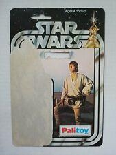 Star wars Luke Skywalker Palitoy 12 Card Back