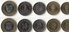 "BAHRAIN: 5 PIECE UNCIRCULATED ""KINGDOM"" COIN SET, 5 TO 100 FILS"