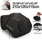 XL Full ATV Cover Waterproof Snow Dust UV Resistant Outdoor Protection Universal