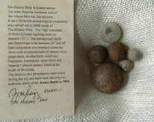 Authentic Alamo Relics, San Antonio, Tx 1836. From a private excavation in 2008.