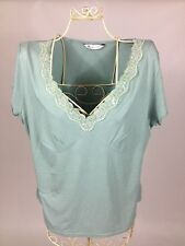 Women's Petite Short Sleeve Sleeve Semi Fitted V Neck Tops & Shirts