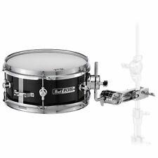 "Pearl 10x4"" Short Fuse 6-Ply Poplar Jet Black Snare Drum"