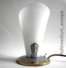 Tischlampe Kunststoff Nacht Tisch Lampe alt vintage um 1950 50er 50s table lamp