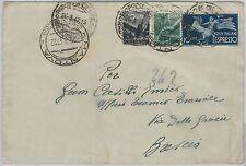 57130 - REPUBBLICA - STORIA POSTALE: ESPRESSI su BUSTA  1947