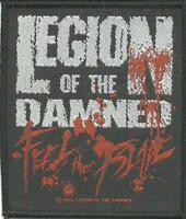 LEGION OF THE DAMNED blade 2008 - WOVEN SEW ON PATCH - official - no longer made
