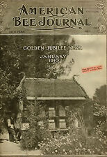 AMERICAN BEE JOURNAL 1866-1921 MAGAZINES 600 issues hives BEEKEEPING APICULTURE