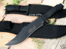 SR Pig Hunting Military Survival Bowie Camping Knife 12B Sharp Multi Tool - AU