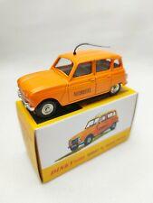 Dinky toys atlas Renault 4L dépannage autoroute échelle 1/43 avec boîte