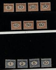 Italy  Somalia   J31-41  set  mint   og    nice     catalog  $677.00      AP0726
