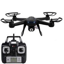 NEW DM007 2.4G 4CH 6 Axis RC Quadcopter With 2MP HD Camera RTF Spy Drone Black