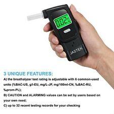 Jastek Breathalyzer, [2019 New Upgraded] Portable Breath Alcohol Tester