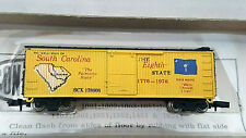 "CON-COR~N GAUGE~""COLLECTORS SERIES"" 1776-1976~SOUTH CAROLINA BOXCAR"
