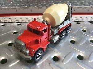 1979 Hotwheels Peterbilt Concrete Truck