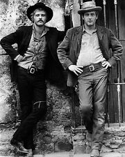 Butch Cassidy and the Sundance Kid Paul Newman Robert Redford Pose 10x8 Photo
