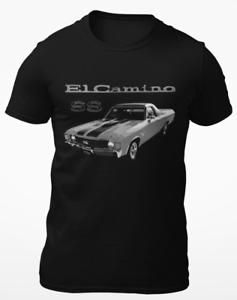 1972 Chevy El Camino SS Classic Car Short-Sleeve T-Shirt