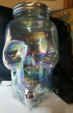 Used Skull Drink Beverage Punch ect... Glass Dispenser for Any Occasion You Like